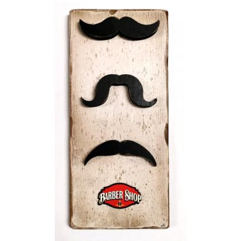 """tabella legno """"BARBE SHOP"""""""