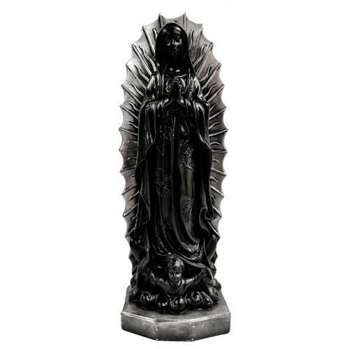 Statua Madonna di Guadalupe BIANCO ANTICO